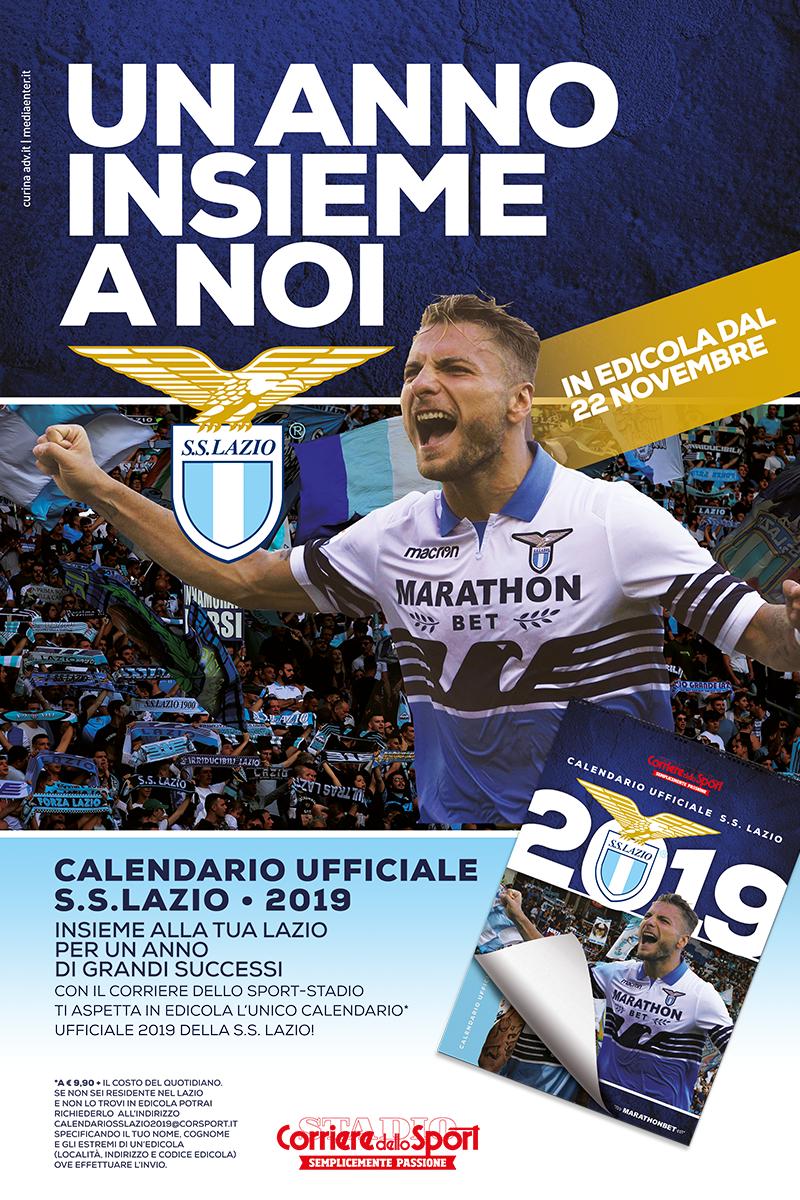 Corriere Dello Sport Calendario.Calendario Ufficiale S S Lazio Corriere Dello Sport