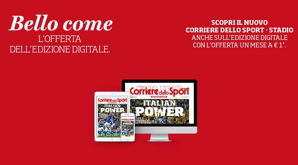 Bello come - Corriere dello Sport - Stadio