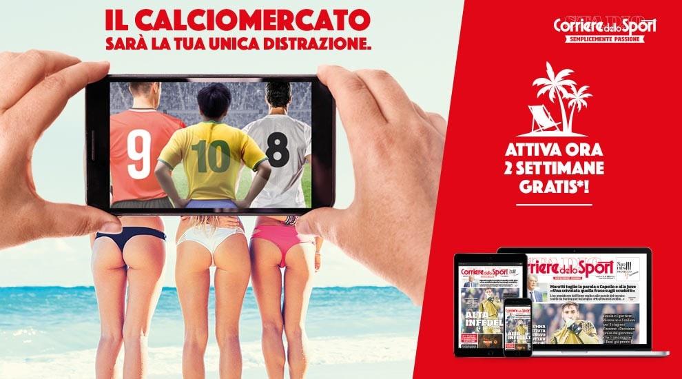 calciomercato-estate-2017 - Corriere dello Sport - Stadio