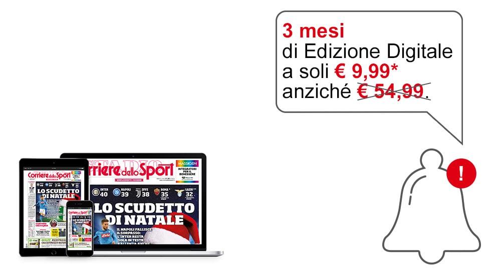 Promo Dicembre 2017 - Corriere dello Sport - Stadio
